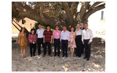 Visita de la Universidad de Shenzhen