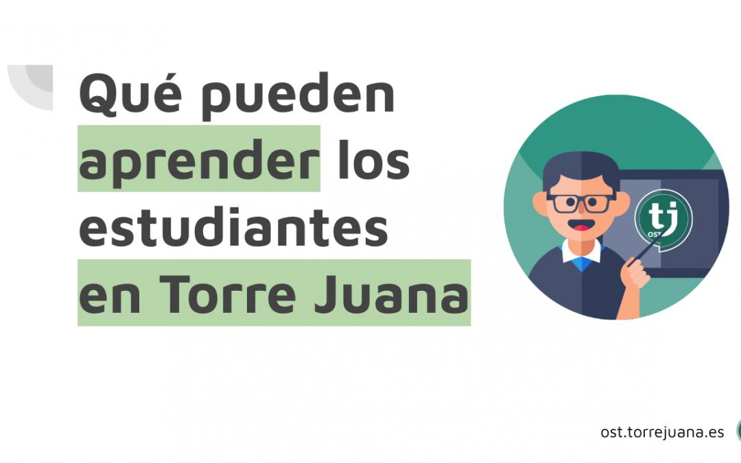 Proyecto Torre Juana para centros educativos: cultura & tecnología