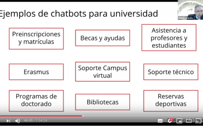 Inteligencia Artificial aplicada a Educación (video)