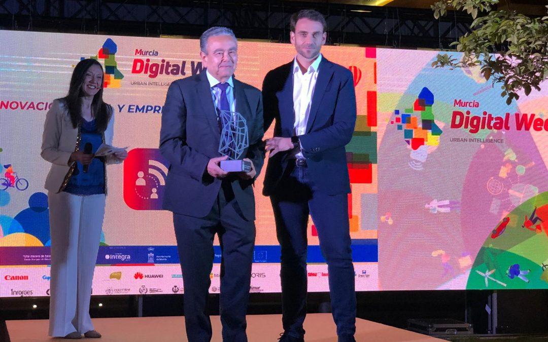 Premio del Gobierno de la C.A. de Murcia a nuestro «ecosistema digital»