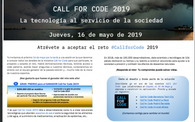 Call for Code 2019  IBM