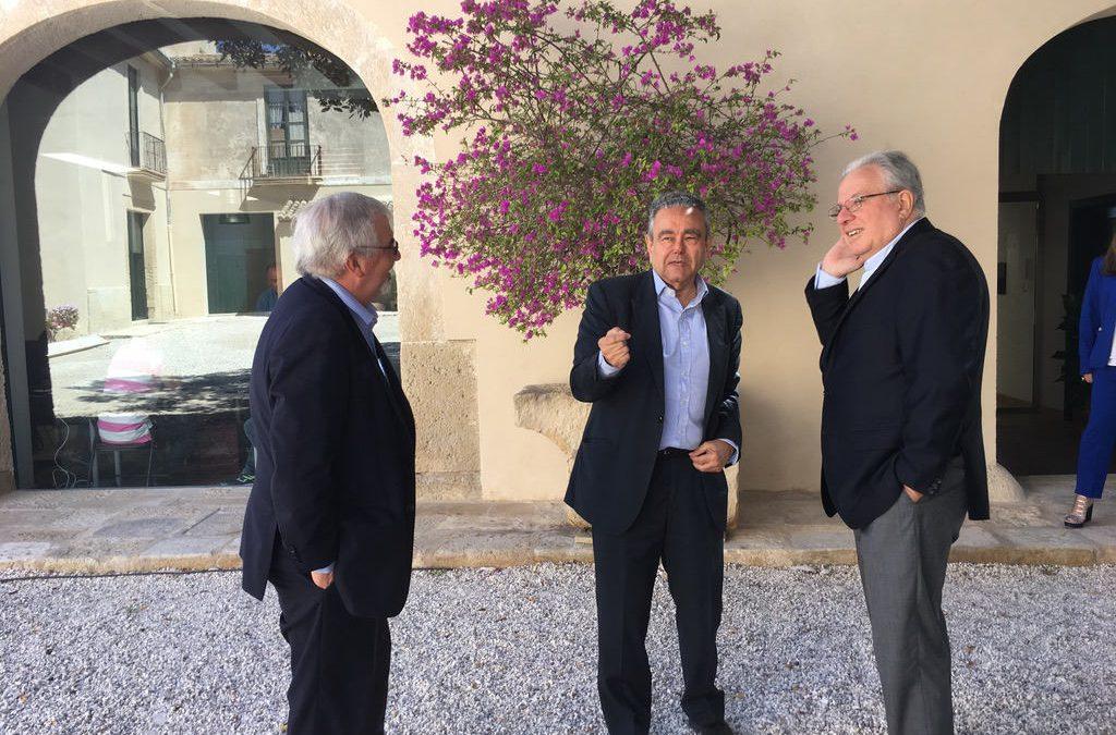 Visita de Alberto Barbieri, Rector de la Universidad de Buenos Aires