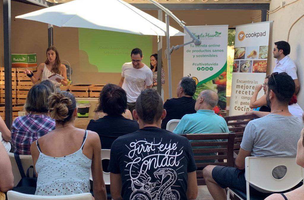 Huertos urbanos, agricultura sostenible y cocina local con Planeta Huerto y Cookpad