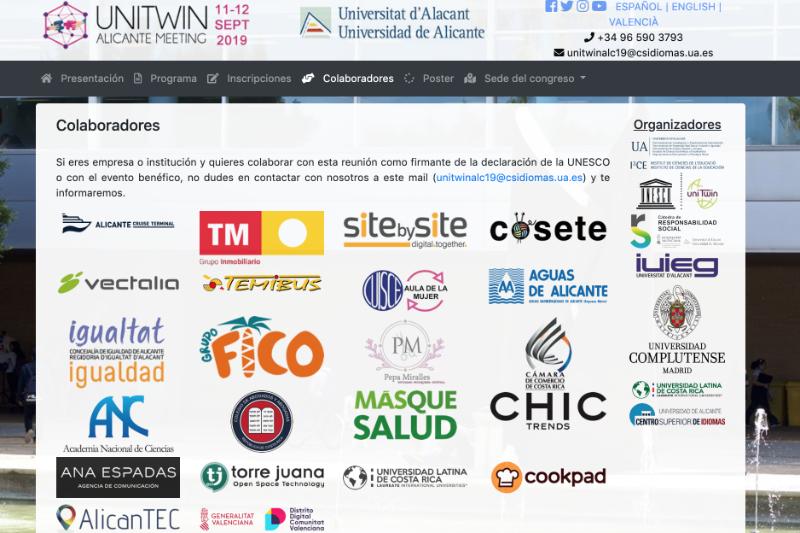 Colaboramos con el Encuentro Internacional 'UNITWIN' de la Unesco