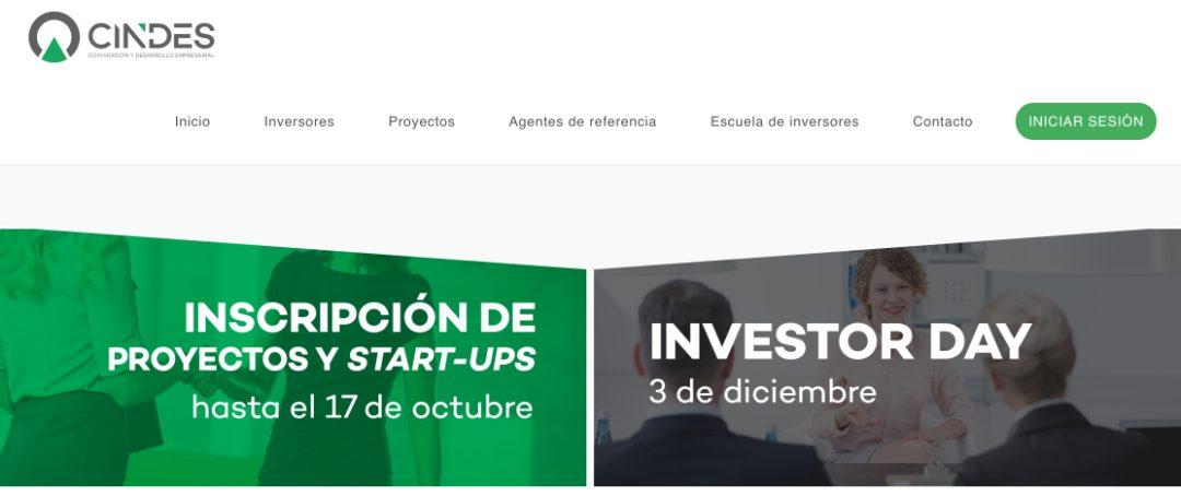 Ya puedes inscribir tu proyecto o startup en CINDES