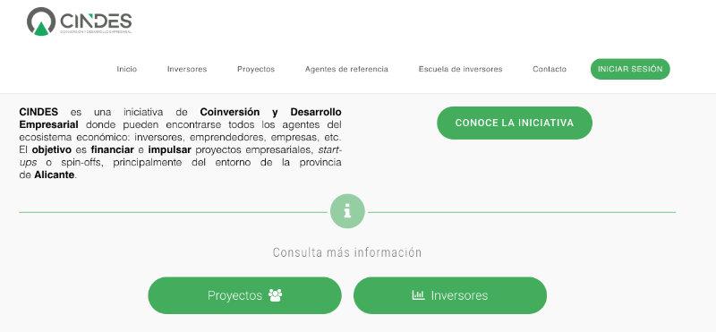 CINDES se pone en marcha: ayudar a proyectos y startups a encontrar financiación