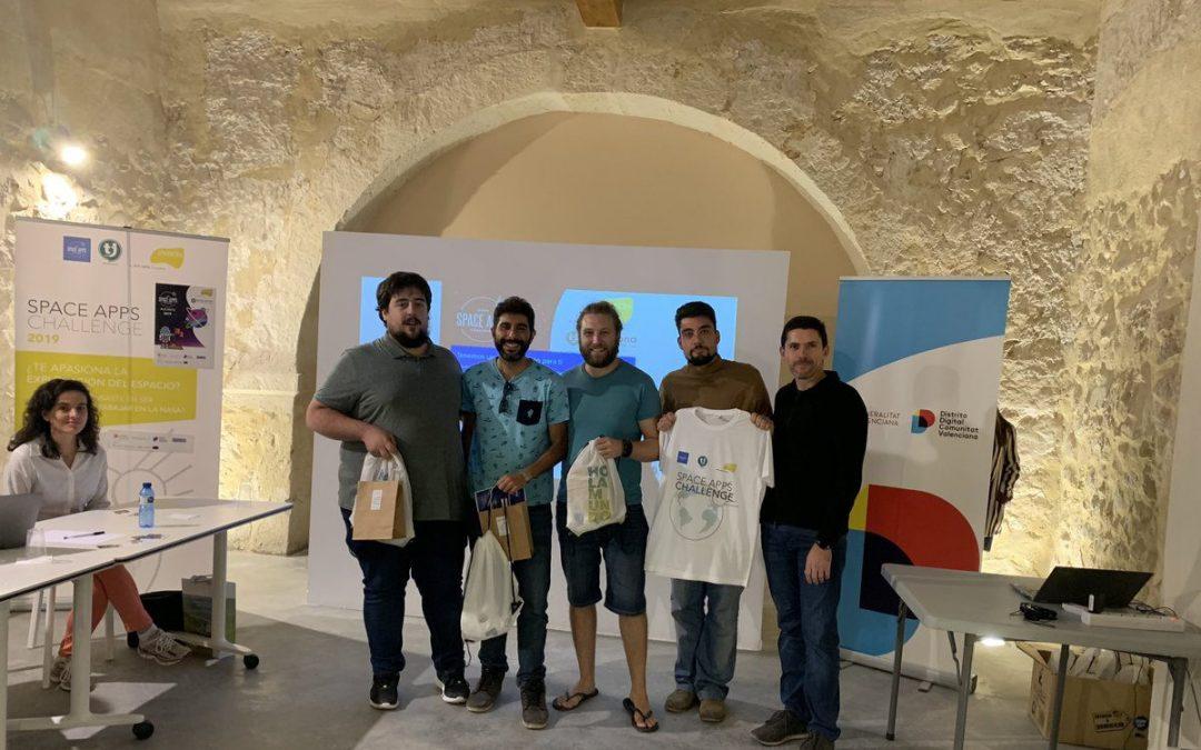 Blue Code y Sunny Day ganadores del NASA Space Apps Challenge de Alicante