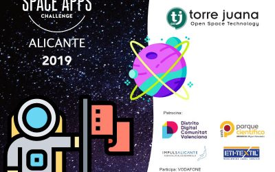 NASA International Space App Challenge desde las sedes de everis y Torre Juana OST
