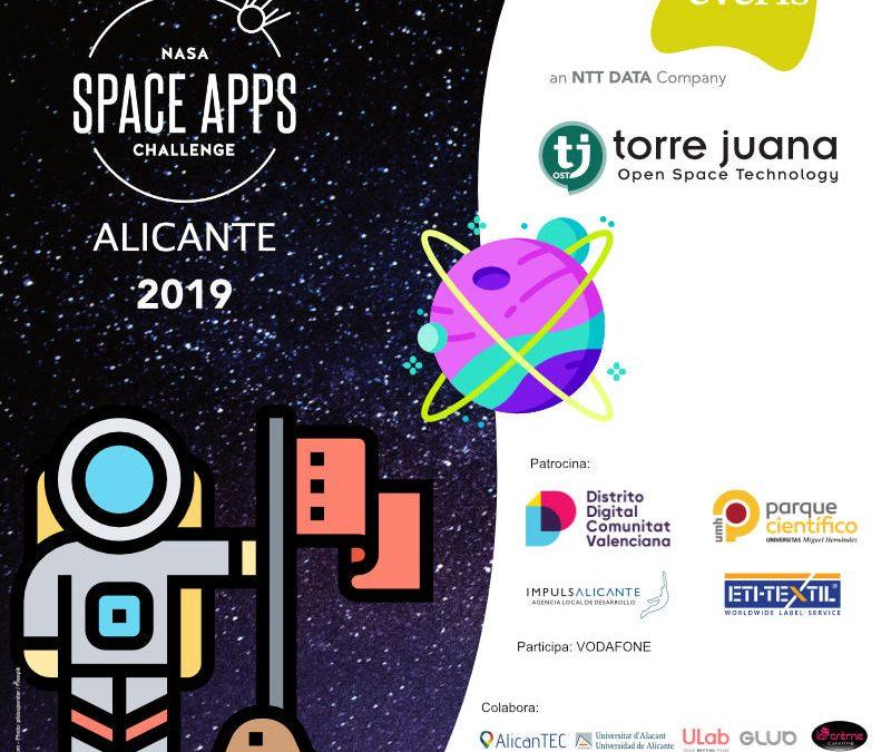 NASA International Space App Challenge desde las sedes de everis y Torre Juana OST