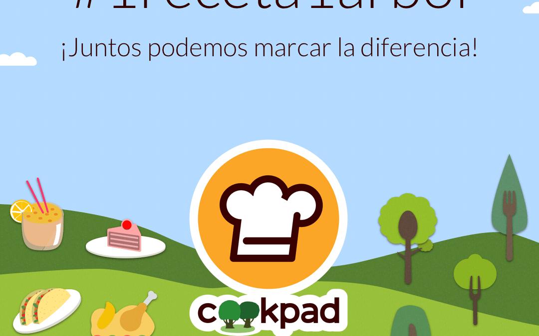 Cookpad lanza una iniciativa para ayudar a plantar 20 millones de árboles #1receta1arbol