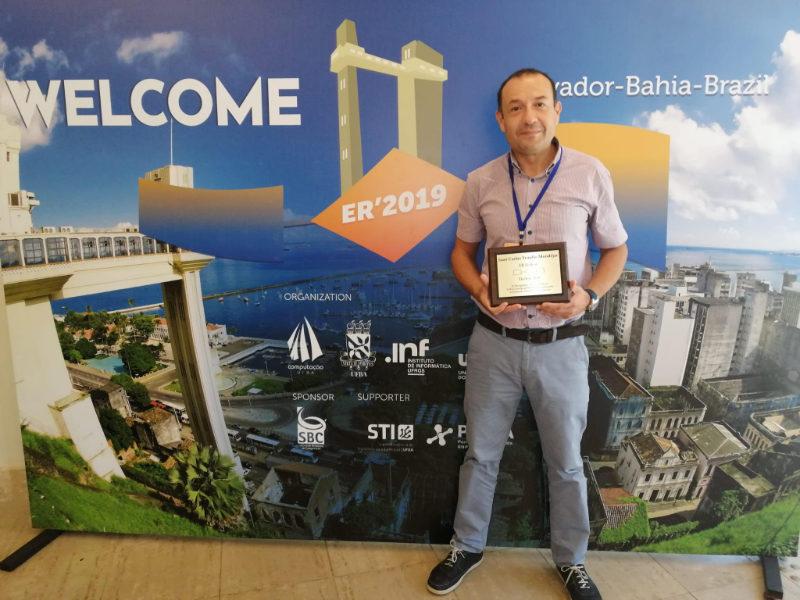 Juan C. Trujillo galardonado con el Premio ER Fellow 2019