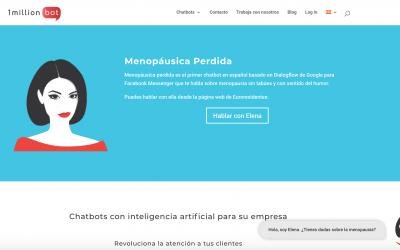 'Menopáusica perdida' un chatbot que demuestra la idoneidad de la IA para asistir a las personas