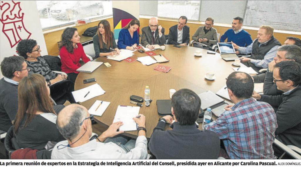 Mesa de expertos en investigación en IA de la Comunidad Valenciana