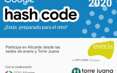 Reto mundial Hash Code de Google  Alicante 2020 con everis y Torre Juana OST