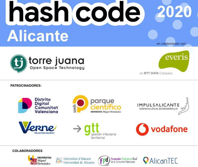 Distrito Digital, Parque Científico UMH, Impulsa Alicante, GTT, Grupo Verne y Vodafone apoyan el reto Hash Code de Google Alicante