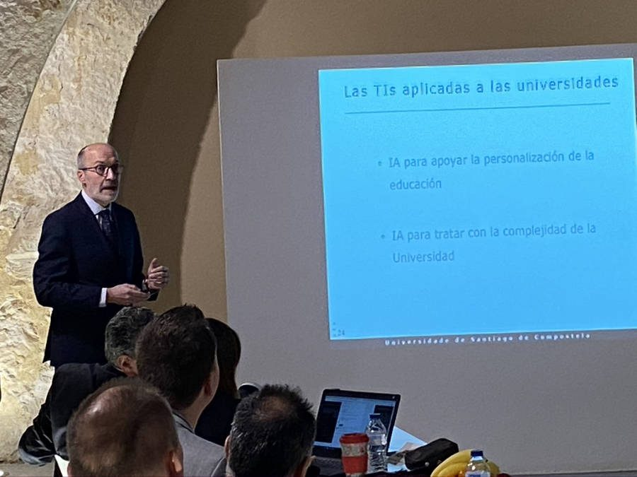 Senen Barro: Inteligencia Artificial enfocada a las universidades