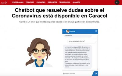Carina en Colombia: Caracol Radio-Grupo Prisa lo inserta en sus webs