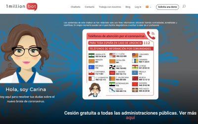 Carina: Inteligencia Artificial para informar  sobre Covid-19