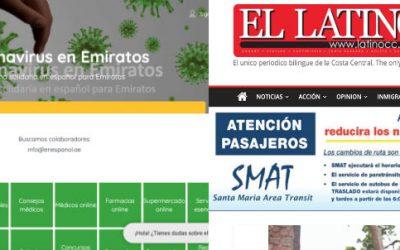 Carina ayuda a minorías españolas en California y Oriente Medio