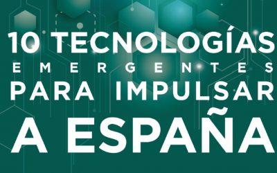 Las 10 tecnologías emergentes para impulsar España (Fundación Rafael del Pino)
