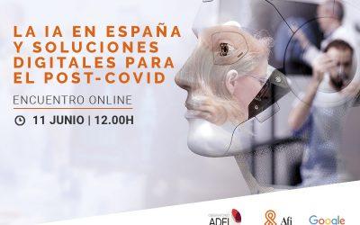 Webinar:  IA en España y soluciones digitales para el post-Covid