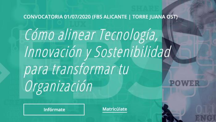 Curso:  sostenibilidad, tecnología e innovación para transformar las organizaciones