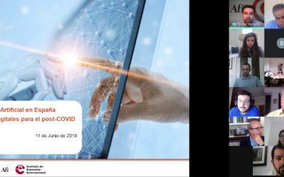 La Inteligencia Artificial en España (Observatorio ADEI)