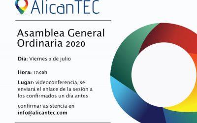 Asamblea General Ordinaria de AlicanTEC 2020