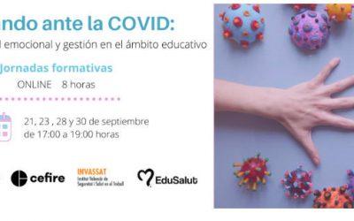 Actuando ante la COVID: prevención, salud emocional y gestión al ámbito educativo