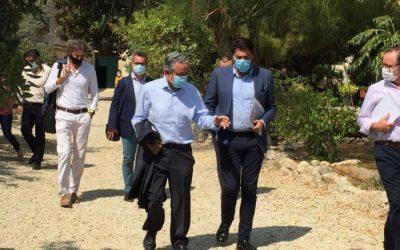 Visita de Luis Barcala, Alcalde de Alicante