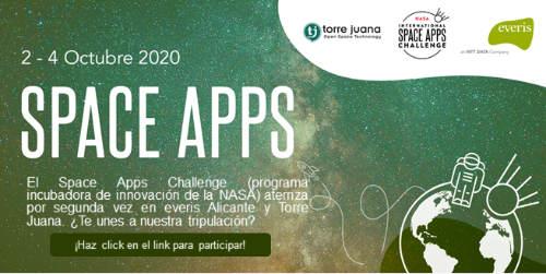 everis y TJ OST acogen de nuevo el Space Apps 2020 en Alicante