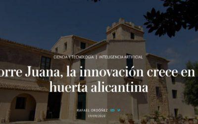 La innovación crece en la huerta alicantina- Artículo El Independiente
