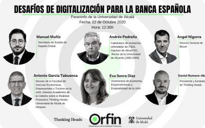 Informe ORFIN: 'Desafíos de digitalización para la banca española'