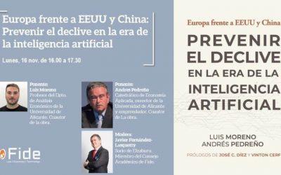 Fundación Fide: debatiendo «Europa frente a… Prevenir el declive en la era de la IA»