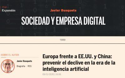 Javier Busquets en Expansión: patrones convexos vs cónvavos