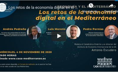 Retos de la economía digital – Casa Mediterráneo