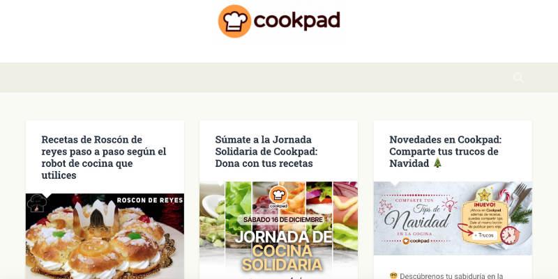 Cookpad-2020: 100 millones de usuarios, en 80 países