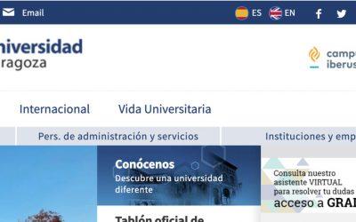 Universidad de Zaragoza: «Pilar» el chatbot para dar soporte al nuevo alumnado