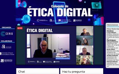 CENID reúne a especialistas para debatir sobre ética digital