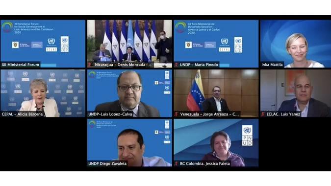 1MB en la C. Económica de la CEPAL y Líderes de América Latina y el Caribe: prioridades recuperación post COVID-19