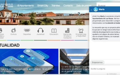 Ayuntamiento de Las Rozas, un chatbot basado en IA de atención al ciudadano