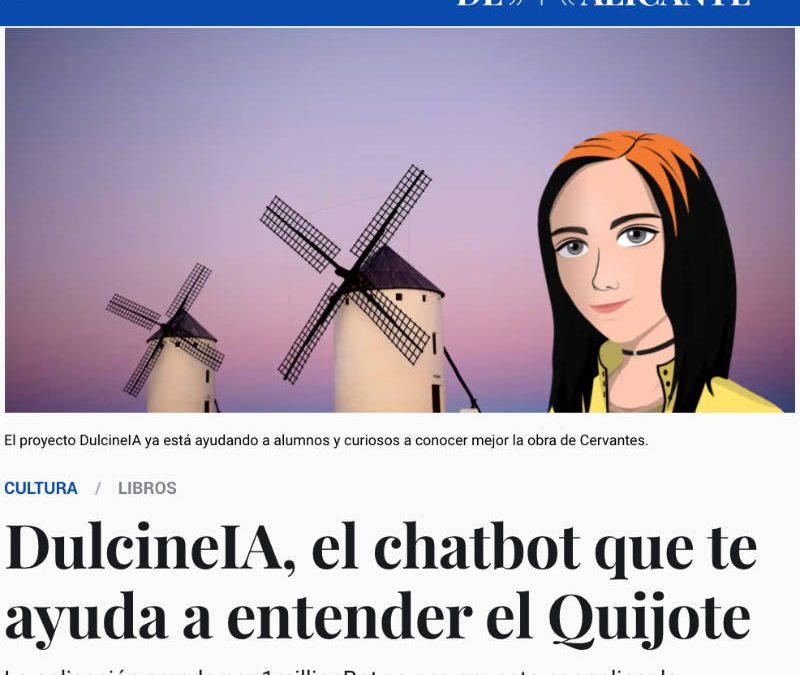 El Español- DulcineIA, Inteligencia Artificial al servicio de las Humanidades