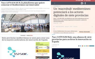 Revista de prensa de '1.070 KM HUB'