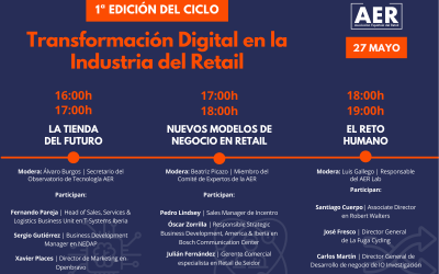 El impacto y las oportunidades de la tecnología en el sector del retail: 1MillionBot en el ciclo organizado por la AER