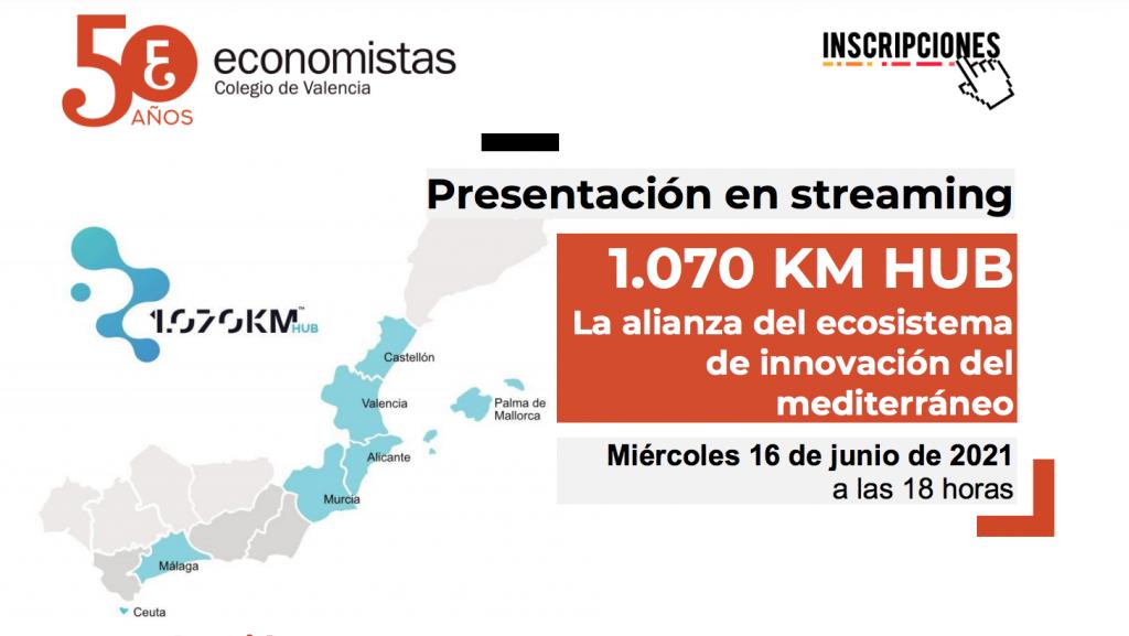 Sesión informativa 1.070 KM HUB con los Colegios de Economistas