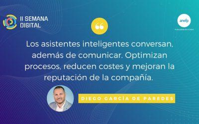 Inteligencia Artificial conversacional en el centro de la organización – 1MillionBot en la II Semana Digital de anefp-