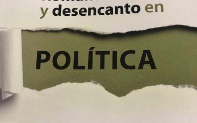 «Romanticismo y desencanto en política» de Juan Vázquez