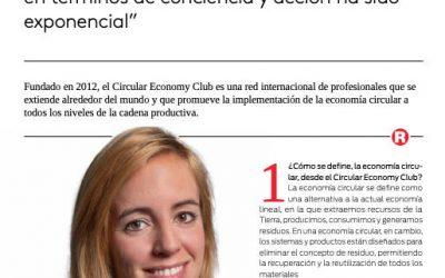 Acelerar la transición hacia la economía circular – Anna Tarí fundadora del 'Circular Economy Club'