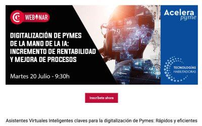 Asistentes Virtuales Inteligentes claves para la digitalización de Pymes: Rápidos y eficientes