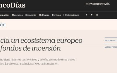 Un ecosistema europeo de fondos de inversión – 1.070 Km Hub